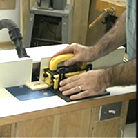 Using Gripper on Router Table