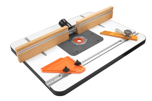 Deluxe Router Table - This package gives you all the tools you need to get in your shop and start working on all your projects in no time.